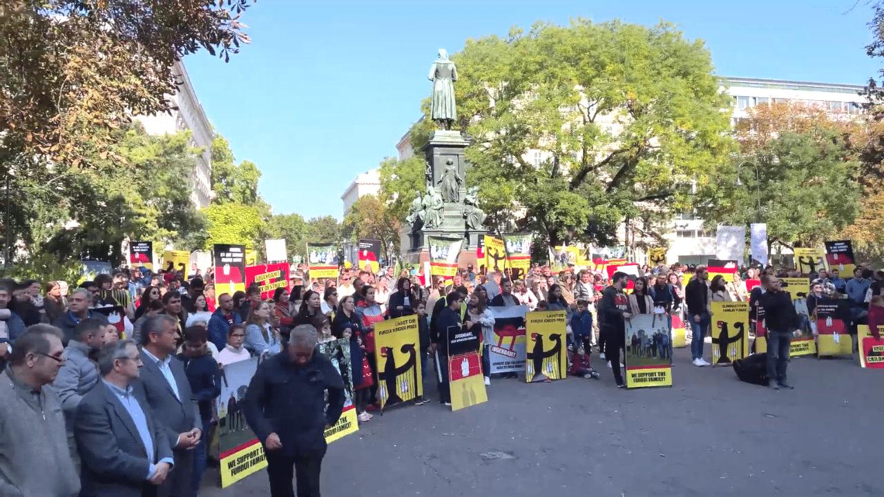 protest pentru susținerea furdui